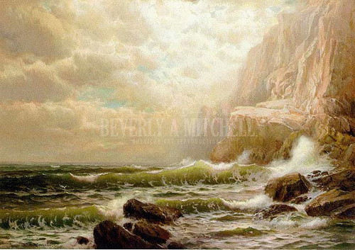 Cliffs Of Dover by William Trost Richards