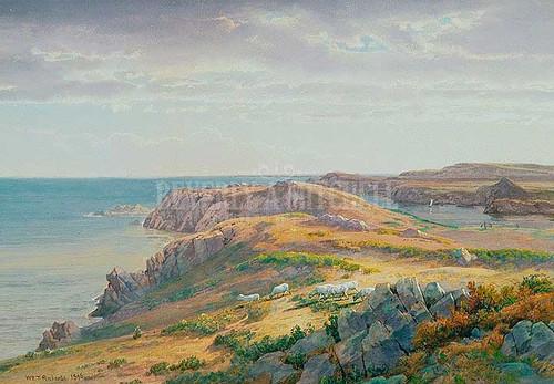 Conanicut Island by William Trost Richards