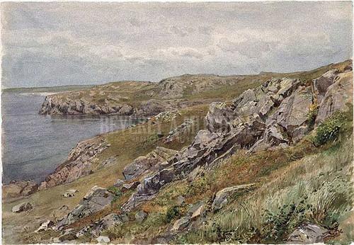 Rhode Island Coastconanicut Island by William Trost Richards
