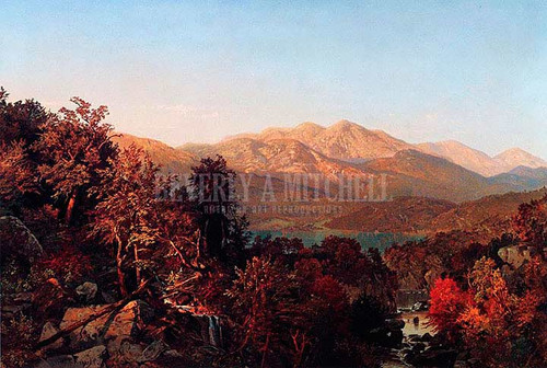 Autumn In The Adirondack2 by William Trost Richards