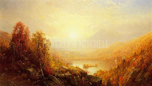 Autumn In The Mountains by William Trost Richards