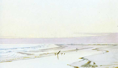Beach At Low Tide by William Trost Richards