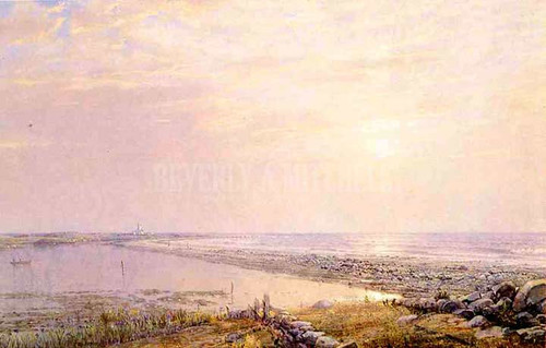 Beach Scene Late Afternoon by William Trost Richards