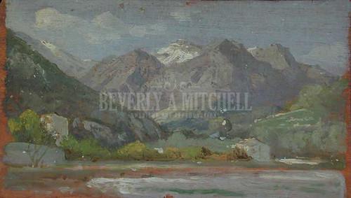 Bent Menton by William Trost Richards