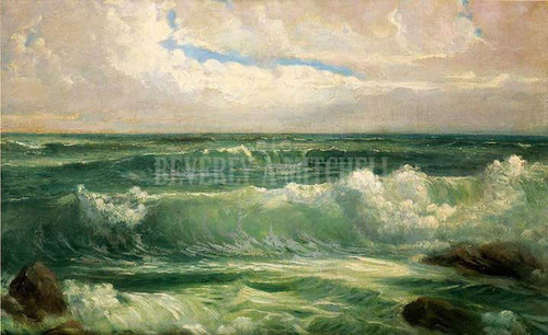 Breakers by William Trost Richards