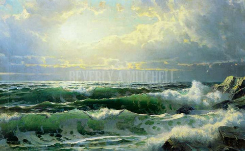 Breaking Waves 22 by William Trost Richards