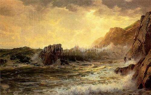 Breaking Waves 2 by William Trost Richards