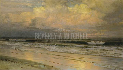 Brigantine Beach New Jersey No. 2 by William Trost Richards