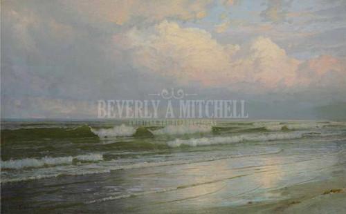 Brigantine Beach New Jersey by William Trost Richards