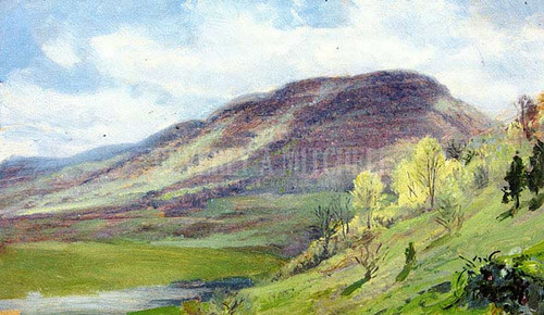 Canaan, Connecticut 2 by William Trost Richards