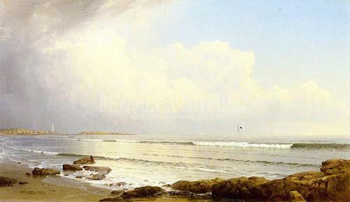 Coast Scene by William Trost Richards