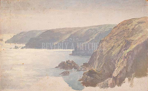 Coast by William Trost Richards