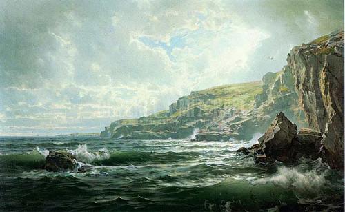 Crashing Waves by William Trost Richards