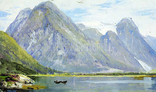 Fjaerland 1 by William Trost Richards