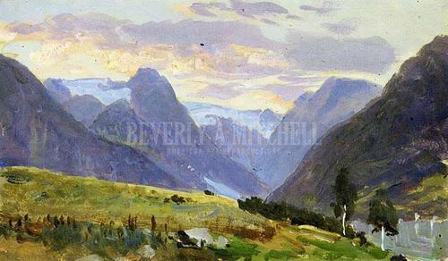 Fjaerland by William Trost Richards