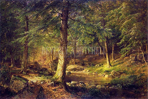 Forest Scene by William Trost Richards