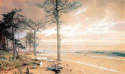 Off Atlantic City by William Trost Richards