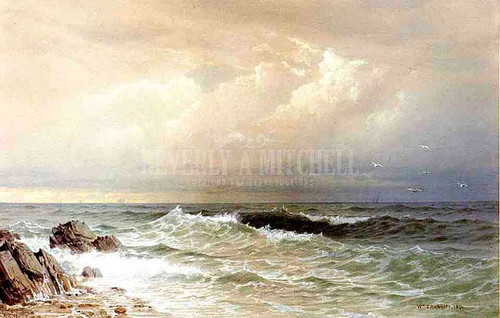 Off The Coast Of Rhode Island by William Trost Richards