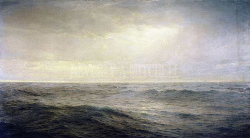 Old Oceans Gray And Melancholy Waste by William Trost Richards