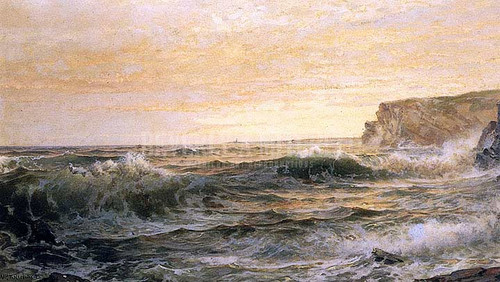 On The Maine Coast by William Trost Richards