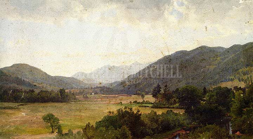 Pleasant Valley Adirondack Mountains by William Trost Richards