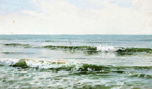 Rolling Surf by William Trost Richards
