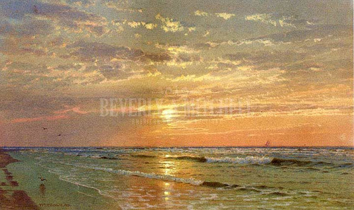 Sunrise Atlantic City by William Trost Richards