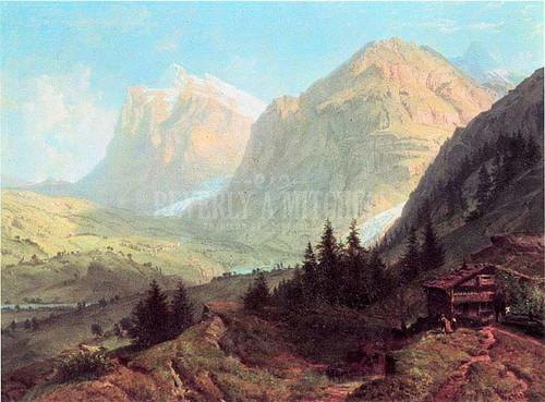 Alpine Landscape by William Trost Richards