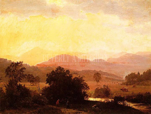View Of The Adirondacks by William Trost Richards