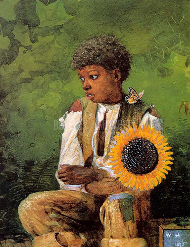 A Flower For The Teacher by Winslow Homer