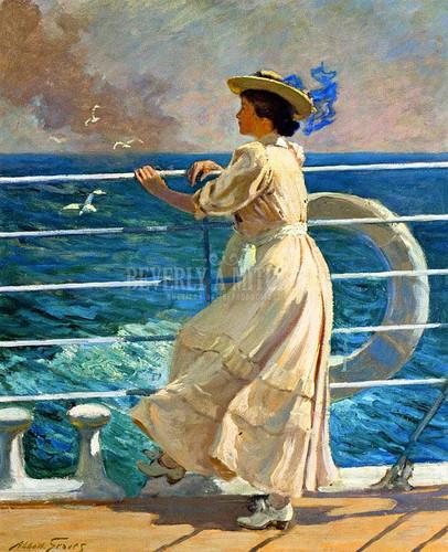 On The Deck by Abbott Fuller Graves