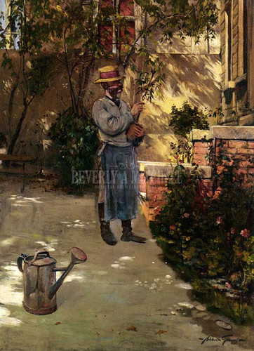 The Gardener by Abbott Fuller Graves