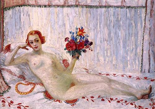 A Model (Nude Self Portrait) by Florine Stettheimer