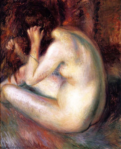 Back Of Nude by William James Glackens