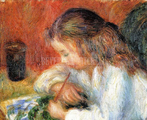 Lenna Painting by William James Glackens