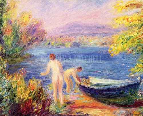 Nude Bathers by William James Glackens