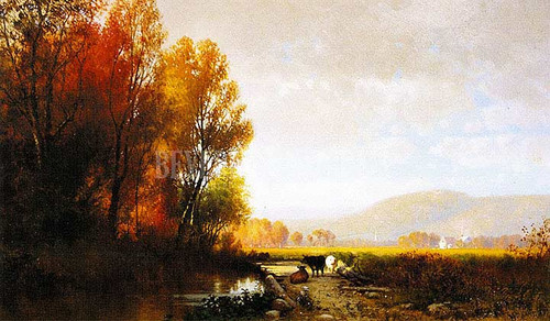 An Autumn Effect   Morning by William M. Hart