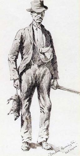 A Native Sportsman by Frederic Remington