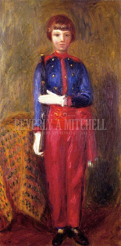 Lenna As Toy Soldier by William James Glackens