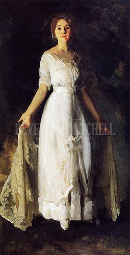 Mrs. Albert M. Miller (Also Known As White Dress) by George Wesley Bellows