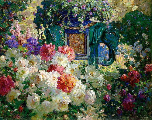 In My Wifes Garden by Abbott Fuller Graves