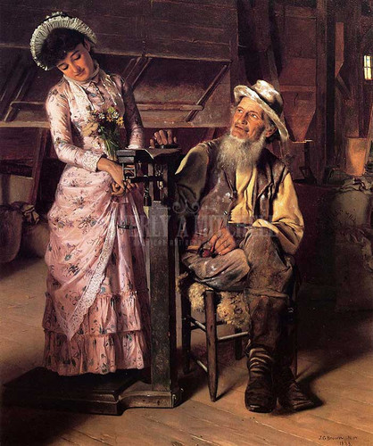 A New Weight by John George Brown
