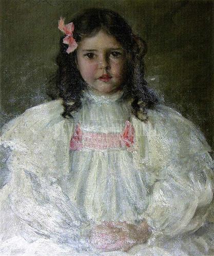 Caroline Allport by William Merritt Chase