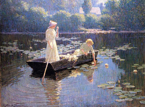 Pond Lilies by Abbott Fuller Graves