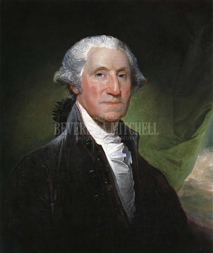 George Washington (The Gibbs Channing Avery Portrait) by Gilbert Stuart