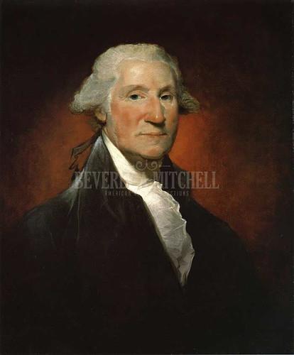 George Washington (The Vaughan Portrait) by Gilbert Stuart