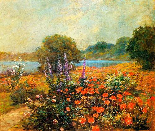 Poppies by Abbott Fuller Graves
