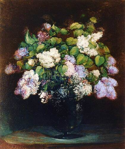 Lilacs by Charles Ethan Porter