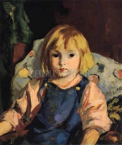 Little Carl (Karl Schleicher) by Robert Henri