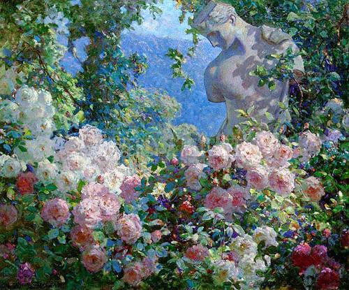 Psyche In The Garden by Abbott Fuller Graves